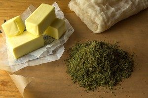 Cannabutter-and-cannabis-infused-oil-is-the-basis-for-savoury-cooking-with-cannabis-Rene-Walter