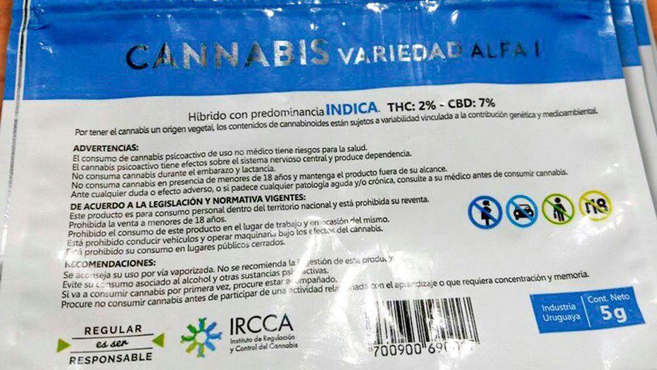 Así serán los envases en los que se venderá el cannabis en farmacias