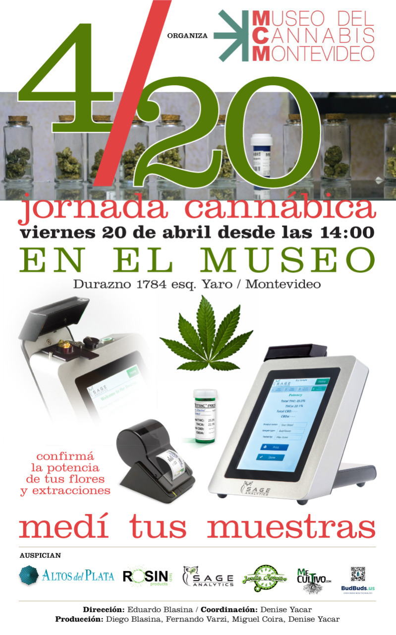4/20 – Jornada Cannabica en el museo