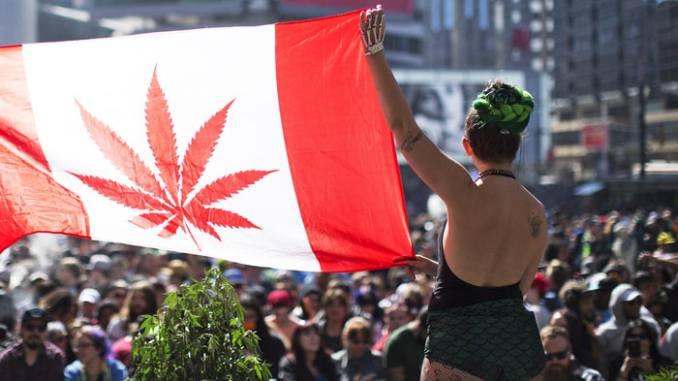 En Canadá ya se puede comprar marihuana para uso personal